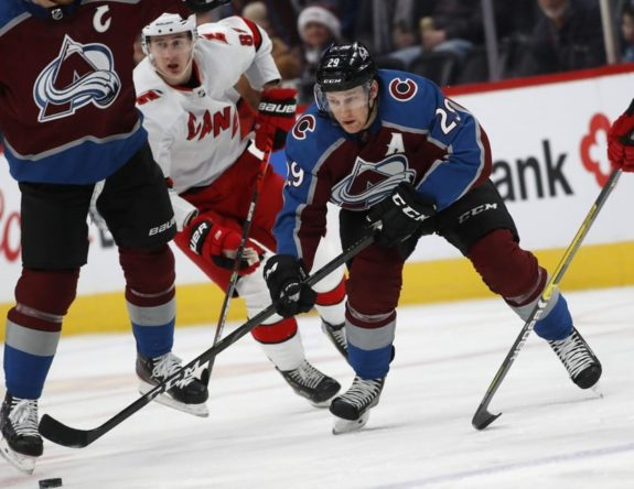 Colorado Avalanche Nathan MacKinnon
