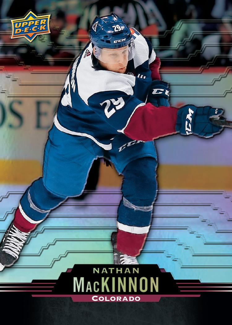 2020-21 Upper Deck Tim Hortons Nathan MacKinnon