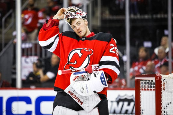 Mackenzie Blackwood New Jersey Devils