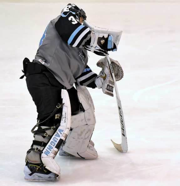 Amanda Makela of the Buffalo Beauts (Photo Credit: Troy Parla)