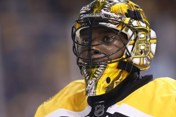 (Greg M. Cooper-USA TODAY Sports) Malcolm Subban is one of the more athletic goaltending prospects, but will his style translate to the NHL? We should find out over the next couple seasons.