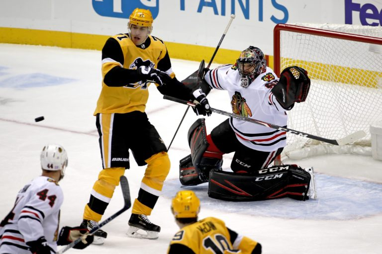 Pittsburgh Penguins Evgeni Malkin Chicago Blackhawks Corey Crawford