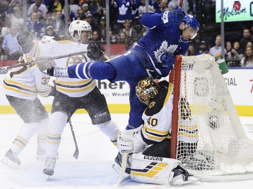 579ab7e047c Maple Leafs Matched the Bruins  Physical Game