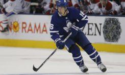 Mitch Marner Scores Twice, Maple Leafs Beat Blue Jackets 4-1