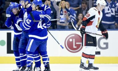Canadiens Play Maple Leafs in Division Battle