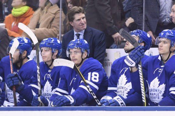 Toronto Maple Leafs head coach Mike Babcock