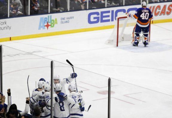 Toronto Maple Leafs celebrate