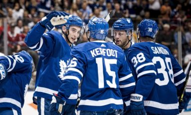 Alexander Kerfoot Proving His Worth to the Maple Leafs