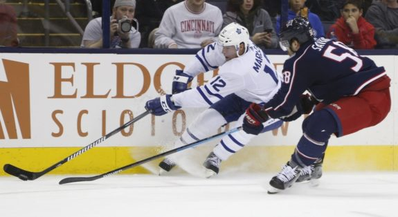 Toronto Maple Leafs Patrick Marleau Columbus Blue Jackets David Savard