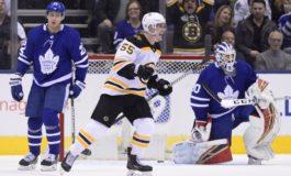 Bruins Beat Maple Leafs - Pastrnak Nets Winner