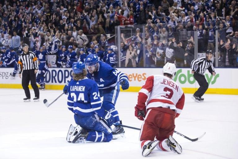 Toronto Maple Leafs Morgan Rielly Kasperi Kapanen