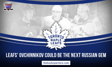 Maple Leafs' Ovchinnikov Could Be the Next Russian Gem