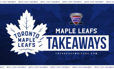 Maple Leafs' Takeaways: Andersen's Back, a New Marner and More D