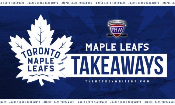 Toronto Maple Leafs Takeaways