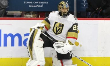 Fleury Is Playing the Best Hockey of His Career with Golden Knights