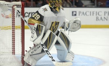 Golden Knights & Capitals Features Classic Goaltender Duel
