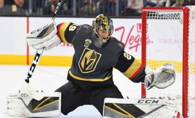 Revolving Door in Goal Can't Derail Golden Knights