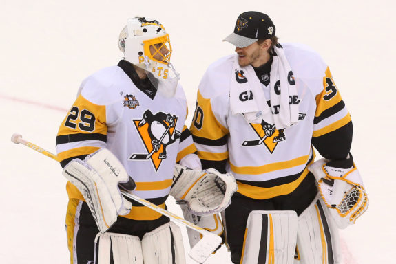 Marc-Andre Fleury, Matt Murray, Pittsburgh Penguins, NHL