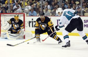 Trevor Daley's recent upper body injury could mean additional ice time for younger players like Pouliot. - Charles LeClaire-USA TODAY Sports