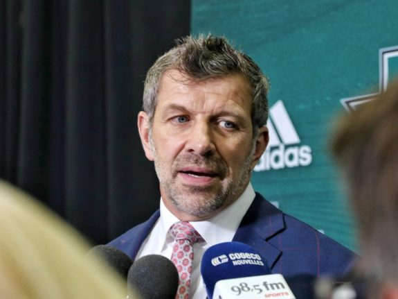 "Montreal Canadiens general manager Marc Bergevin - (<a href=""https://www.facebook.com/38Photography"">Amy Irvin</a> / The Hockey Writers)"
