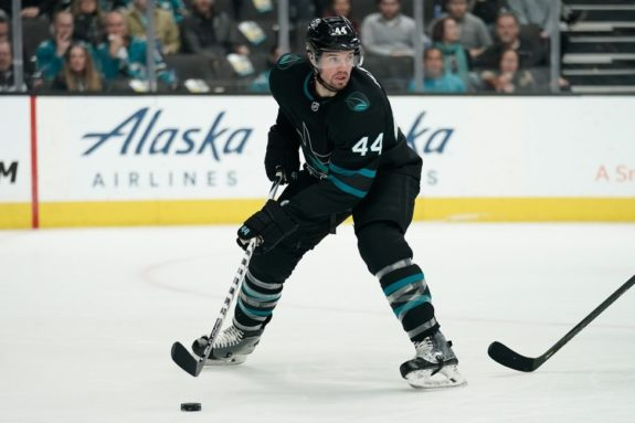 Sharks defenseman Marc-Edouard Vlasic