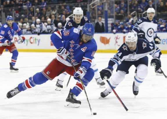 Rangers defenseman Marc Staal