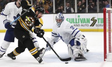 Maple Leafs Player Reviews vs. Bruins
