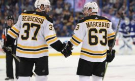 Bruins Troublemaker Marchand Staying out of Trouble...Kind Of