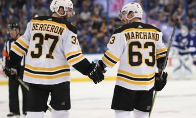 Strong October Key to Bruins' Season