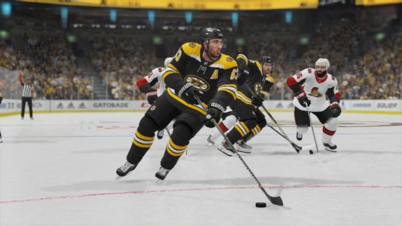 Brad Marchand EA Sports NHL 20