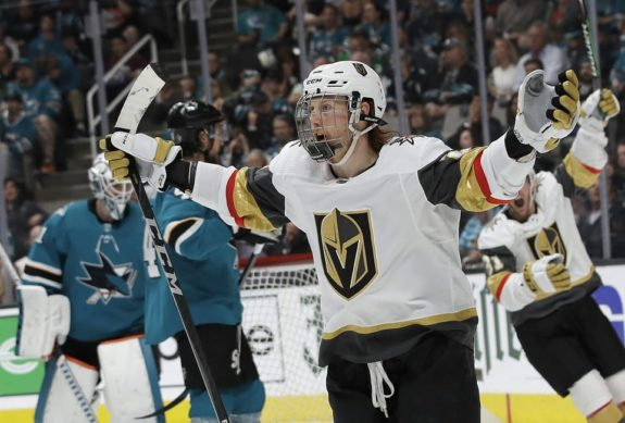 Vegas Golden Knights Cody Eakin