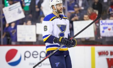 Blues Sign Scandella to Four-Year, $13.1 Million Extension