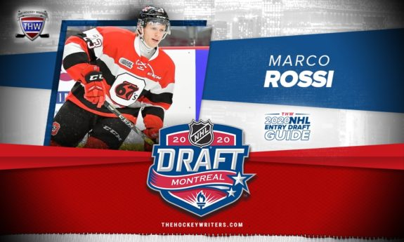 The Hockey Writers 2020 NHL Entry Draft Guide Marco Rossi