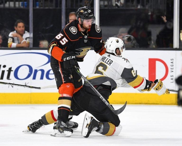 Ducks defenseman Marcus Pettersson