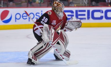 Winless Coyotes Searching for Goaltending Answers