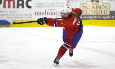 Maren Knudsen Is the Future for Norwegian Women's Hockey