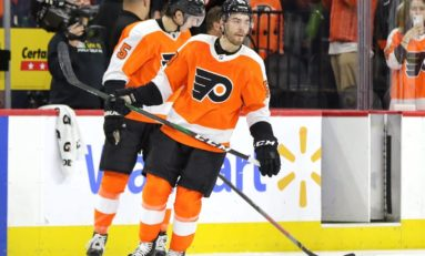 Flyers Bolster Blue Line With Friedman Extension