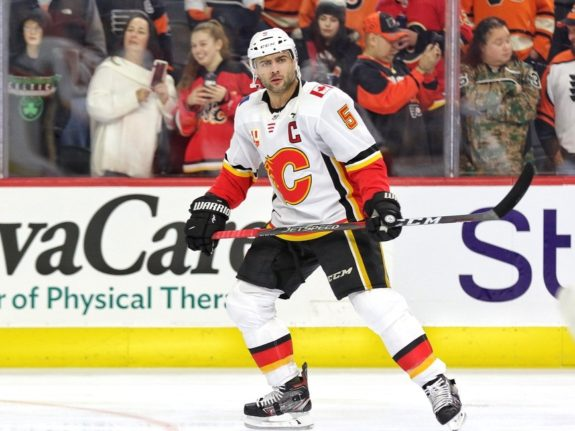 Mark Giordano Calgary Flames Hamstring Injury 2020 NHL Trade Deadline