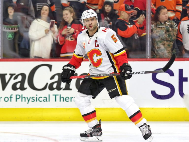 Mark Giordano Calgary Flames