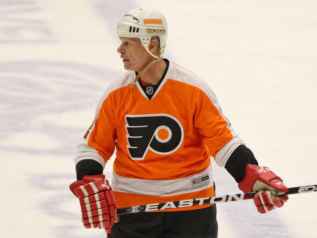 Mark Howe Philadelphia Flyers