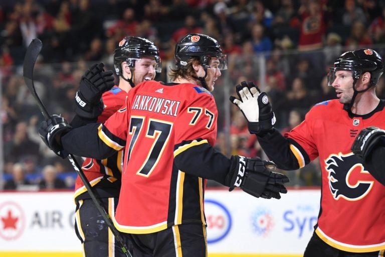 Calgary Flames center Mark Jankowski