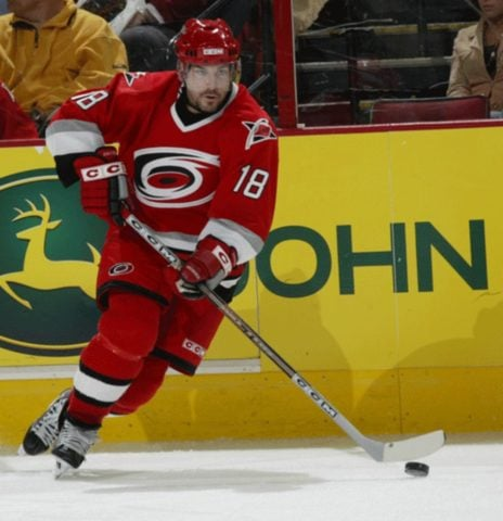 Mark Recchi Carolina Hurricanes