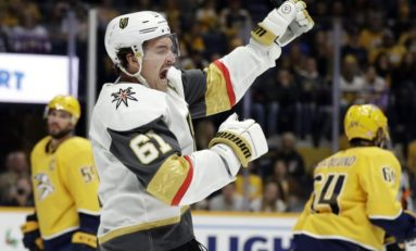 Stone, Fleury Lift Golden Knights Over Panthers 7-2