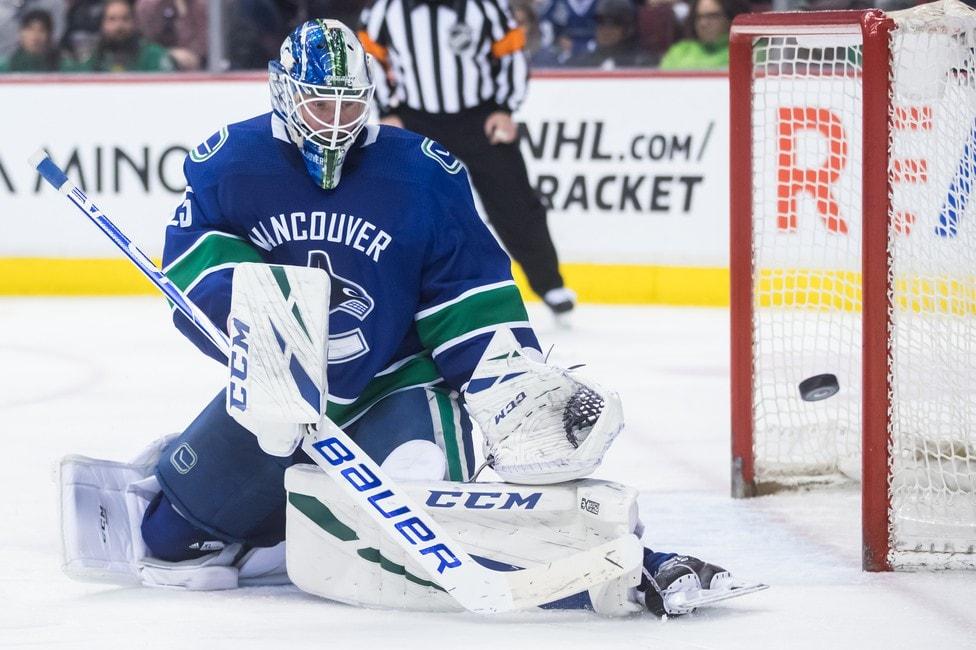Vancouver Canucks Jacob Markstrom