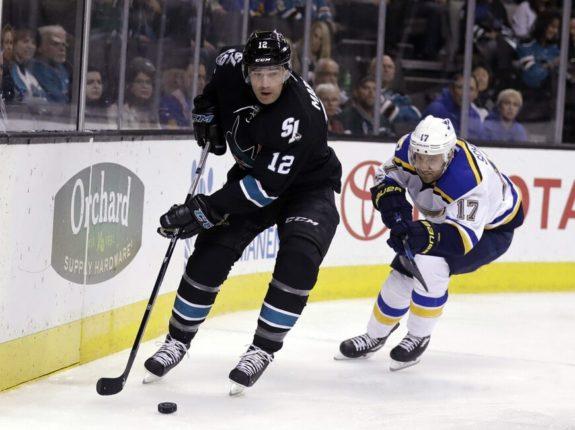San Jose Sharks' Patrick Marleau