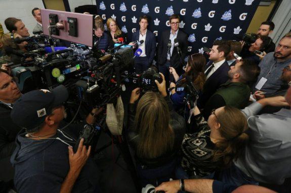 Toronto Maple Leafs Mitch Marner Kyle Dubas