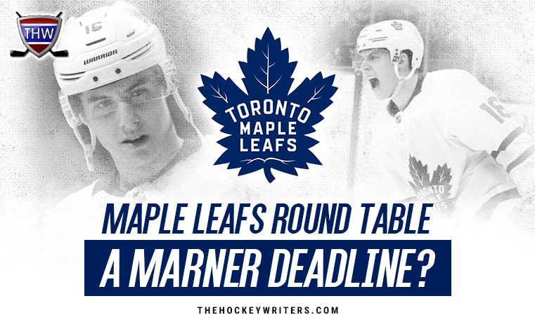 Toronto Maple Leafs Round Table Mitch Marner a deadline ?