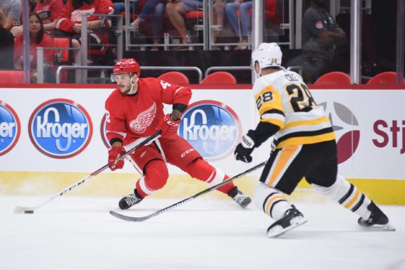 Martin Frk of the Detroit Red Wings