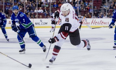 Coyotes Drop Seventh Straight, Lose to Red-Hot Ducks