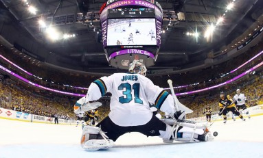 Sharks Hanging Martin Jones out to Dry